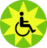 Geschikt zelfstandig rolstoel
