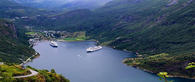 Cruise rolstoel noorwegen