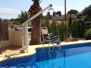 Aangepast vakantiehuis in Spanje